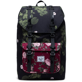 Herschel Little America Mid-Volume Rugzak 17L, fine china floral